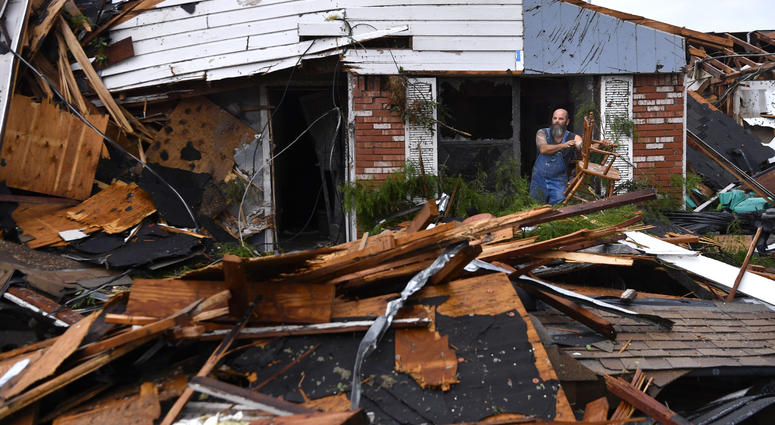 Tornadoes rake Southern Plains; more severe weather expected