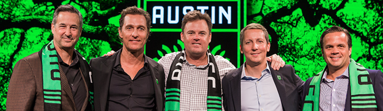 Austin FC welcomes McConaughey, other Austinites into ownership group