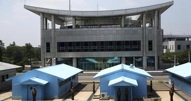 On North Korean side of DMZ, it's change in the air