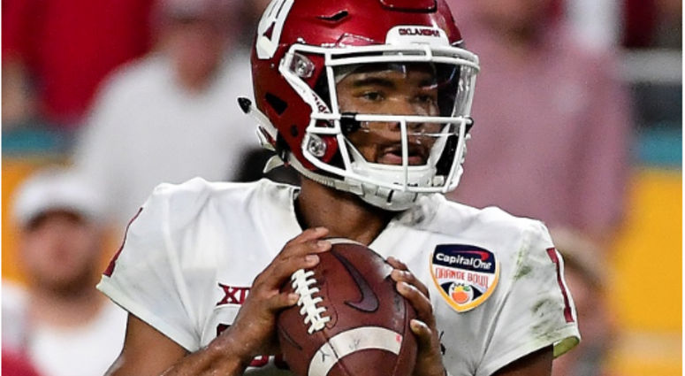 Kyler Murray announced his decision to commit to playing in the NFL over baseball