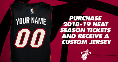 Score a Customized HEAT Jersey