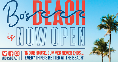 Bo's Beach is now open