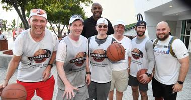 Zaslow Dribbles a Basketball 13 Miles to Help Cure Cancer!