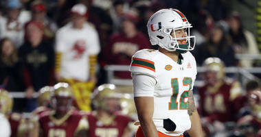 Canes Return To The Rock Trying To Salvage Season