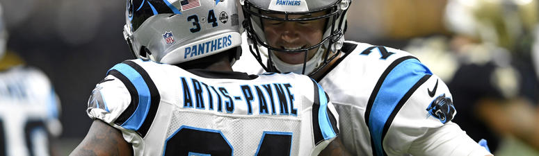 Allen thrives until injury, Panthers beat Brees-less Saints