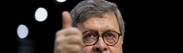 William Barr sworn in for 2nd stint as US attorney general