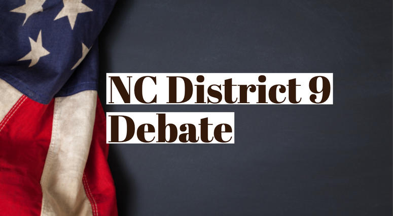 WBT's NC 9th Congressional District GOP Candidates Debate