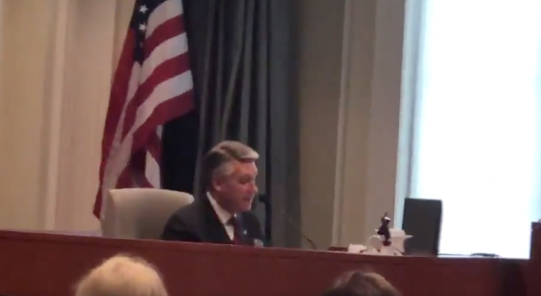 VIDEO: Mark Harris Concedes To New Election