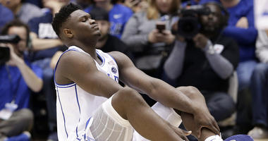 With Zion injured, No. 8 UNC routs No. 1 Duke 88-72