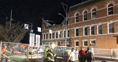 Building Collapse in Berwick