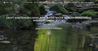 DEP Releases Report on Impaired Waterways in Pennsylvania