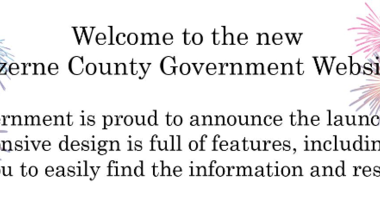 The New Luzerne County Website is Up and Running