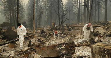 Sheriff: California wildfire's death toll rises to 48