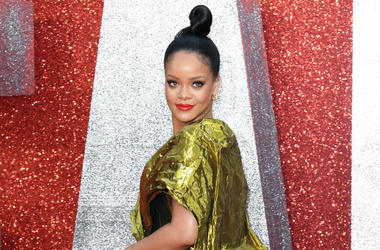 6/13/2018 - Rihanna attending the European premiere of Oceans 8, held at the Cineworld in Leicester Square, London