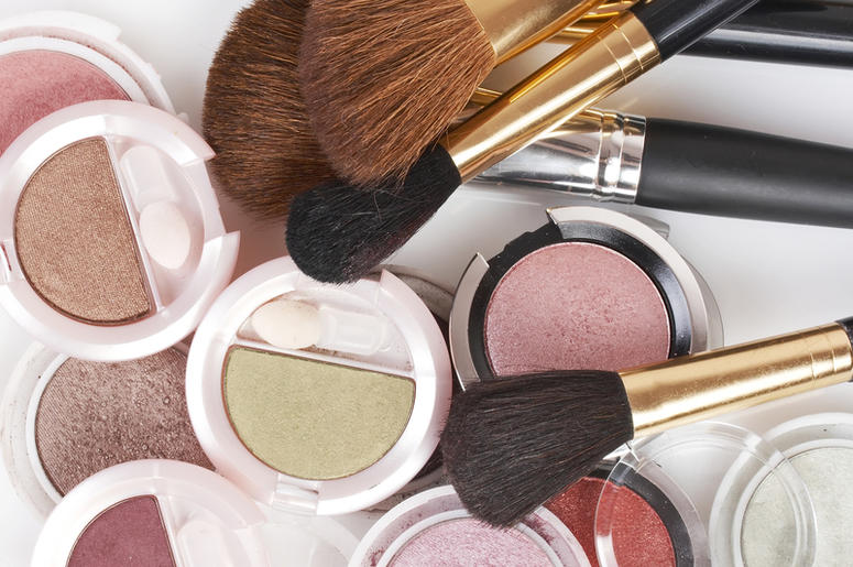 How much do women spend on makeup in a year?
