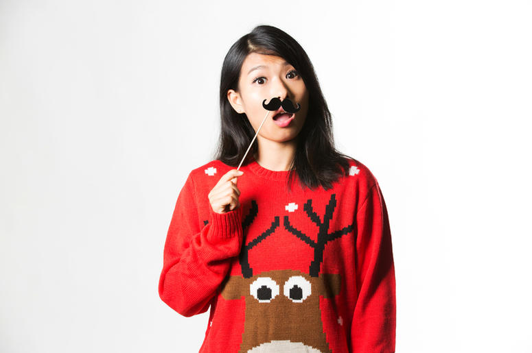 Celebrate Ugly Christmas Sweater Day With These Crazy Trends 1079