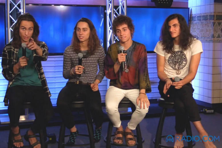 Greta Van Fleet stop by radio.com for an exclusive interview