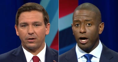 Ron DeSantis and Andrew Gillum in CNN debate