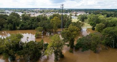 Rivers surge to record levels as FEMA relief ramps up