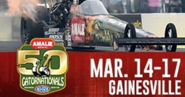 Win NHRA Gatornationals Burn Out Zone