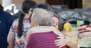 In disaster zone, families seeking the missing amid storm damage