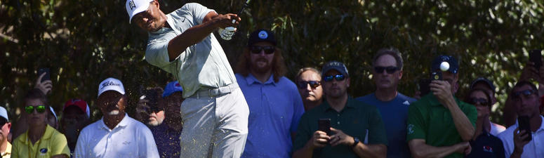 Tiger Woods shares lead going into weekend at East Lake