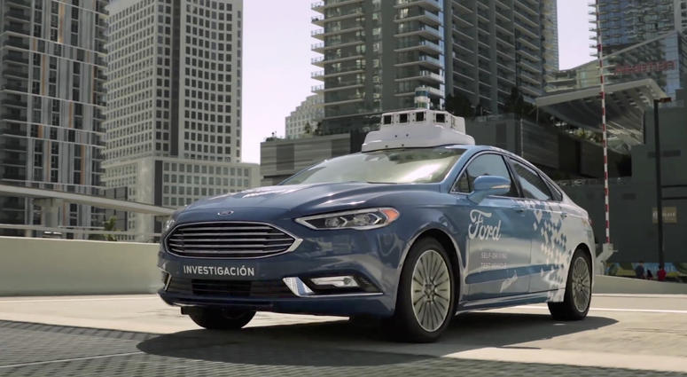 Ford And Miami To Form Test Bed For Self Driving Cars Wwl