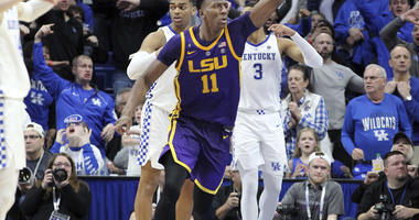 Tip-in at buzzer lifts No. 19 LSU past No. 5 Kentucky