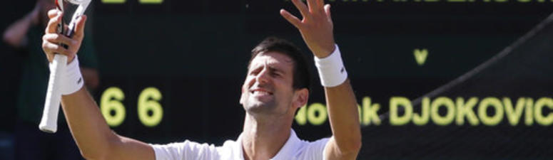 Djokovic wins 4th Wimbledon by beating Anderson in 3 sets