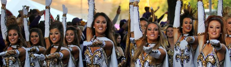 Mystery man making case to become first LSU Golden Guy?