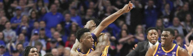 Did LSU get away with one or win fairly?  Watch and decide
