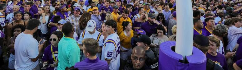 Fighting Tigers fans cost LSU $100,000