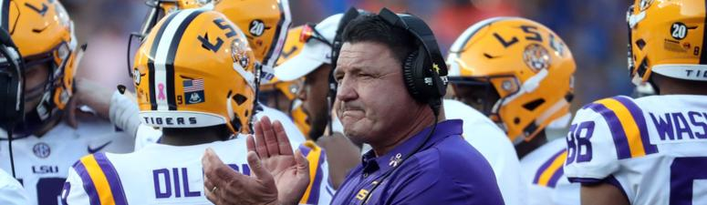 LSU closing in on 10 wins after picked to finish 5th in SEC West