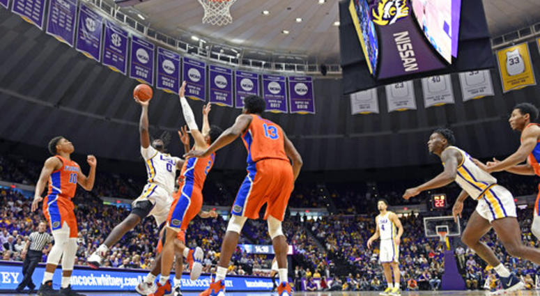 LSU drops back-and-forth battle to Florida in overtime