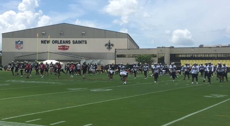 Saints Mini Camp