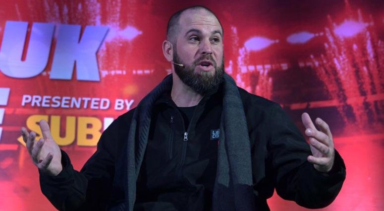 Oct 27, 2018; London, United Kingdom; Philadelphia Eagles former long snapper Jon Dorenbos at NFL UK Live at The Drum at Wembley.
