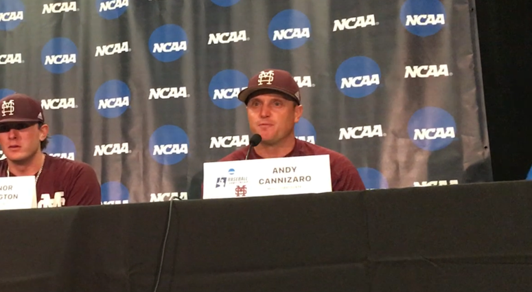 Mississippi State baseball press conference 2017 Super Regionals