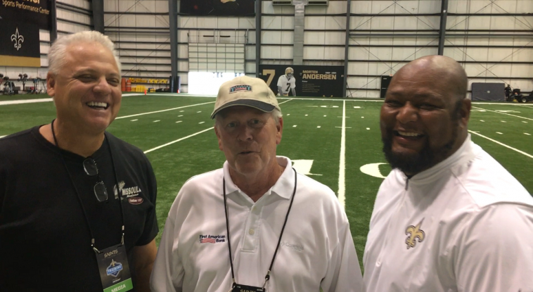 Jim Henderson with Bobby & Deuce training camp