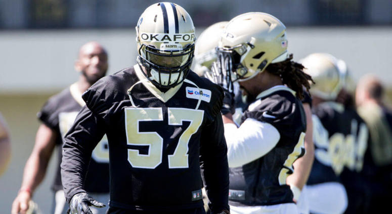 Saints DE Alex Okafor