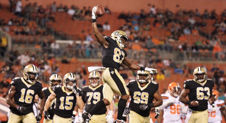 Tommylee Lewis Saints vs Browns preseason NFL