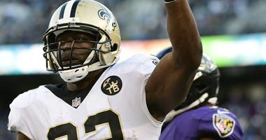 Five Saints appear on week's first injury report