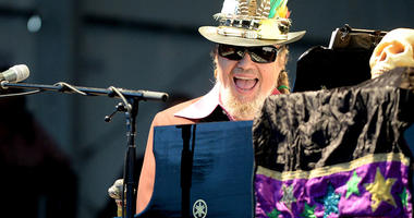 Turns out, Dr. John marked his 78th birthday a year early