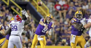 LSU survives second-half charge for 38-21 win over Louisiana Tech