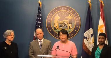 Watch: Mayor announces new leadership and resignations from New Orleans Sewerage and Water Board