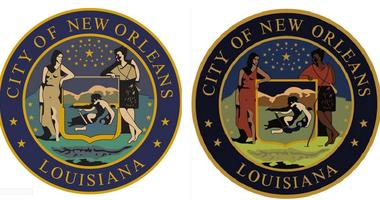 Cantrell posts new city seal for New Orleans with darker figures