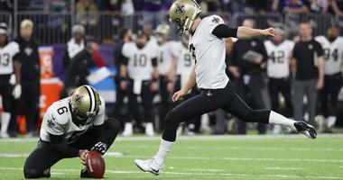 Will Lutz have a Garrett Hartley moment against the Rams?