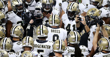 Will Saints offense roll the Ravens?