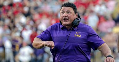 LSU topples 2nd ranked Georgia in convincing fashion