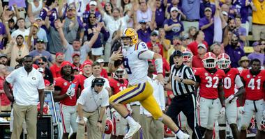 LSU vaults back into the national picture by dismantling Georgia