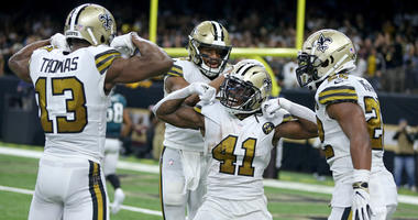 In That Number: Where the Saints rank after Week 10
